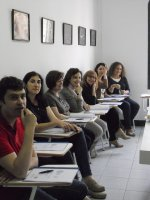 uczestnicy podczas szkolenia